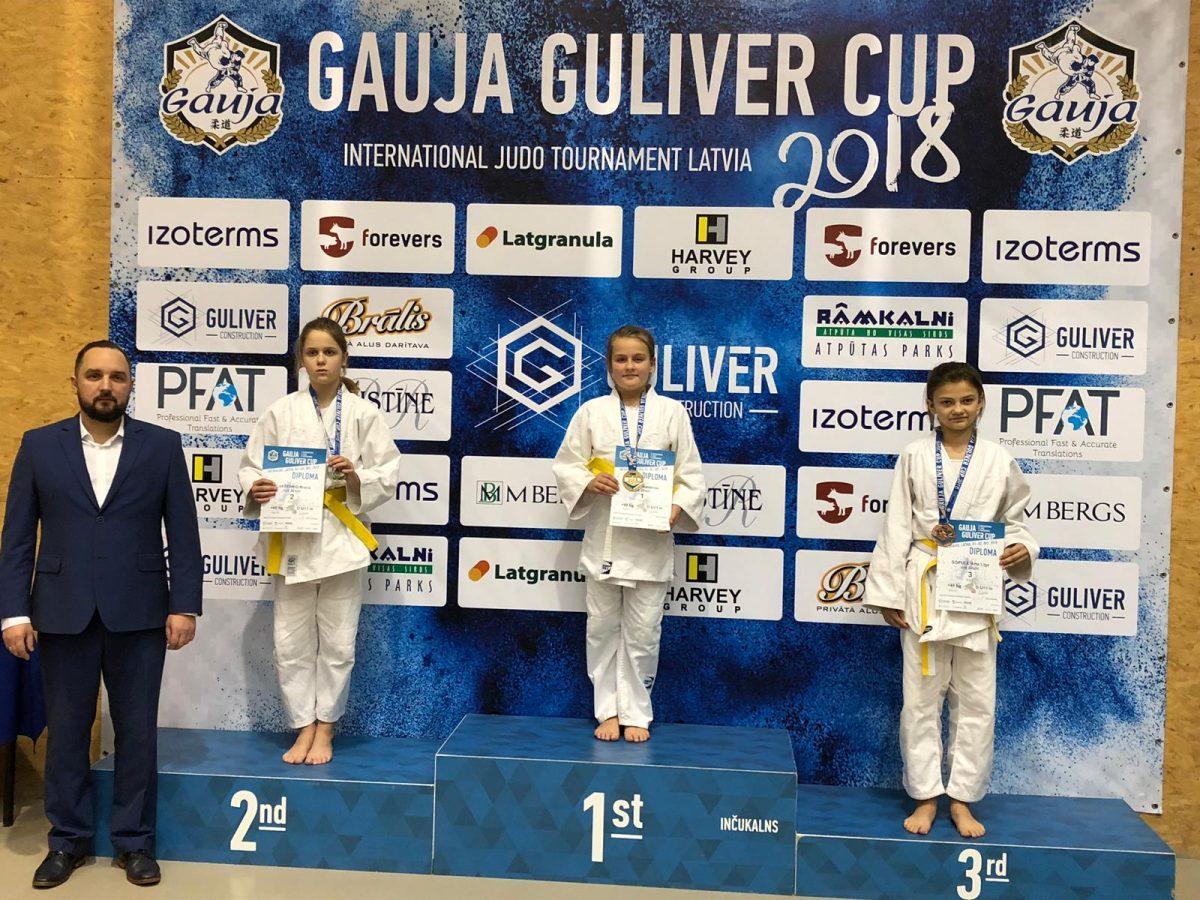 """UZVARA IV STARPTAUTISKAJĀ DŽUDO TURNĪRĀ """"GAUJA GULIVER CUP 2018"""""""