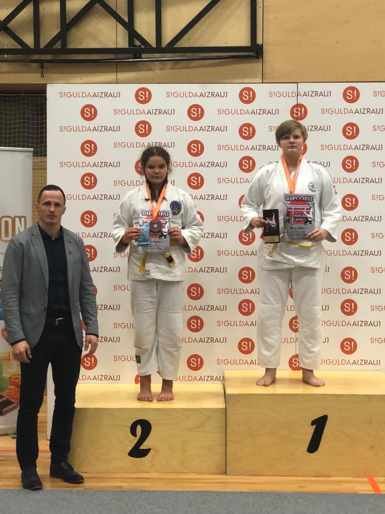 """Zelts un sudrabs starptautiskajā džudo turnirā """"SIGULDA 2019"""""""